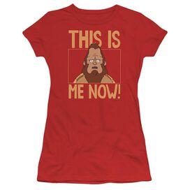Bobs Burgers This Is Me Short Sleeve Junior Sheer T-Shirt