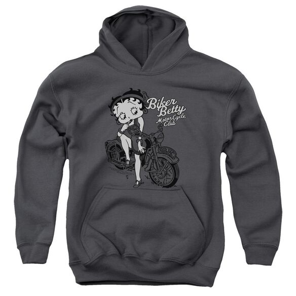 Betty Boop Bbmc Youth Pull Over Hoodie