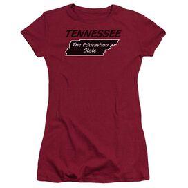 Tennessee Short Sleeve Junior Sheer T-Shirt