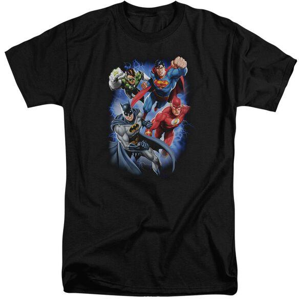 Jla Storm Makers Short Sleeve Adult Tall T-Shirt