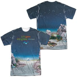 Yes Topographic Oceans (Front Back Print) Short Sleeve Adult Poly Crew T-Shirt