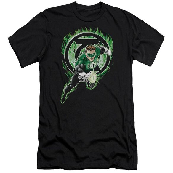 Green Lantern Space Cop Premuim Canvas Adult Slim Fit