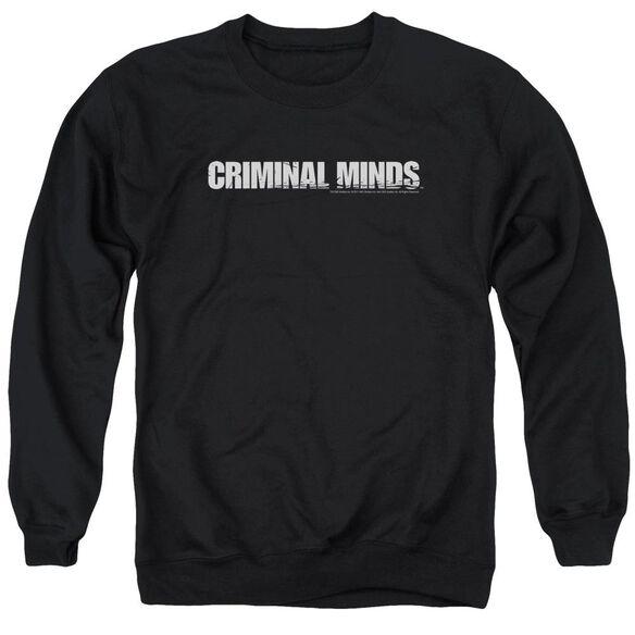 Criminal Minds Logo Adult Crewneck Sweatshirt