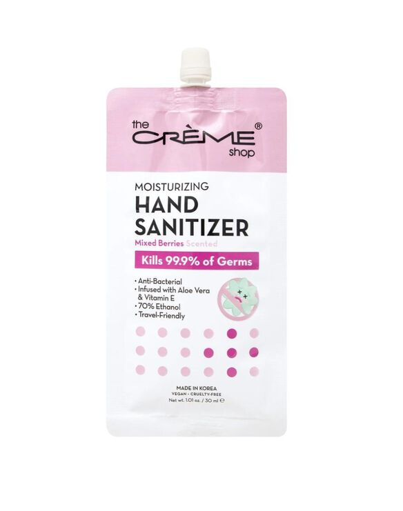 Moisturizing Hand Sanitizer - Mixed Berries Scented