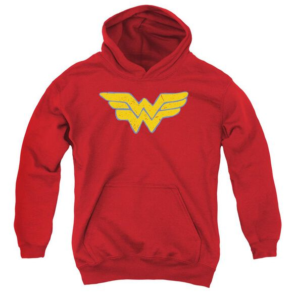 Jla Rough Wonder Youth Pull Over Hoodie