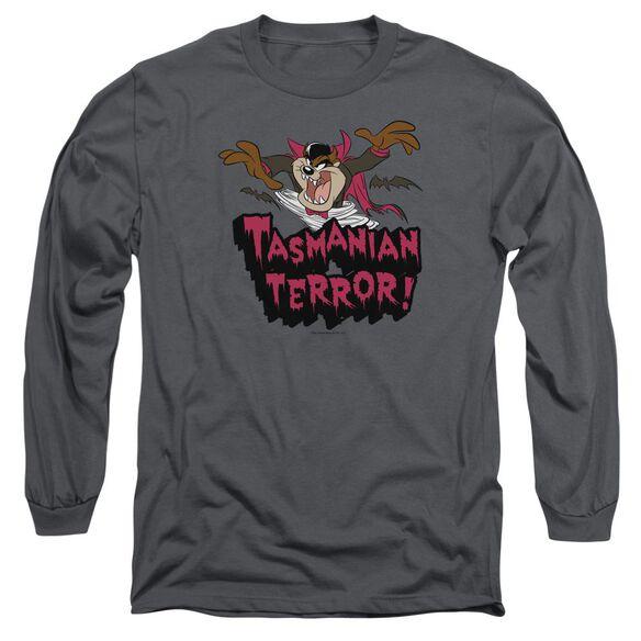 Looney Tunes Taz Terror Long Sleeve Adult T-Shirt