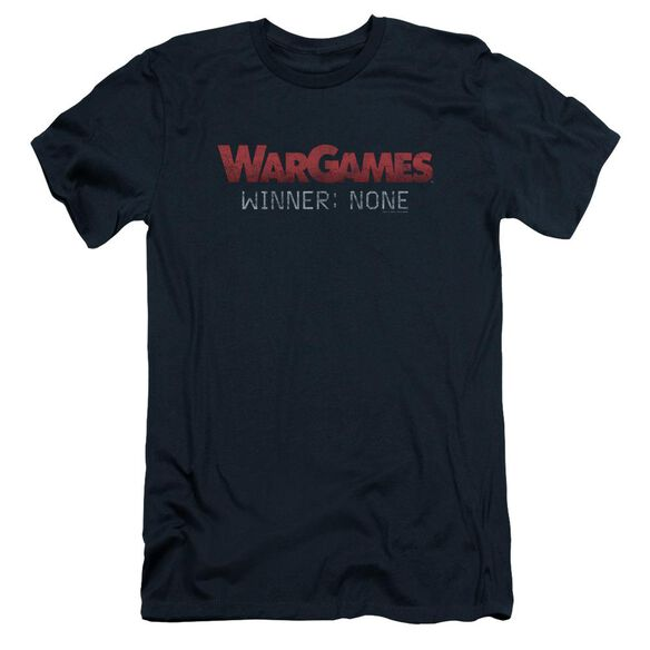 Wargames No Winners Short Sleeve Adult T-Shirt