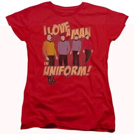 STAR TREK MAN IN UNIFORM-S/S T-Shirt