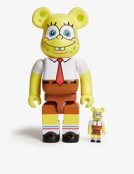 Spongebob 100% & 400% Bearbrick Figures [Set of 2]