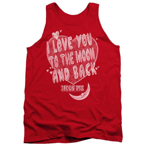 Moon Pie I Love You Adult Tank
