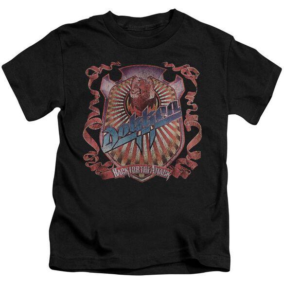 Dokken Back Attack Short Sleeve Juvenile T-Shirt