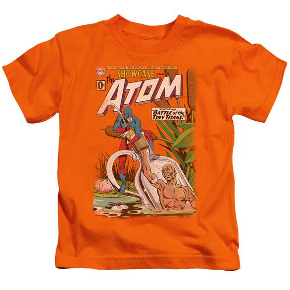 Jla Showcase #34 Cover Short Sleeve Juvenile Orange T-Shirt