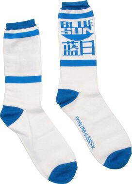Firefly Blue Sun Crew Socks