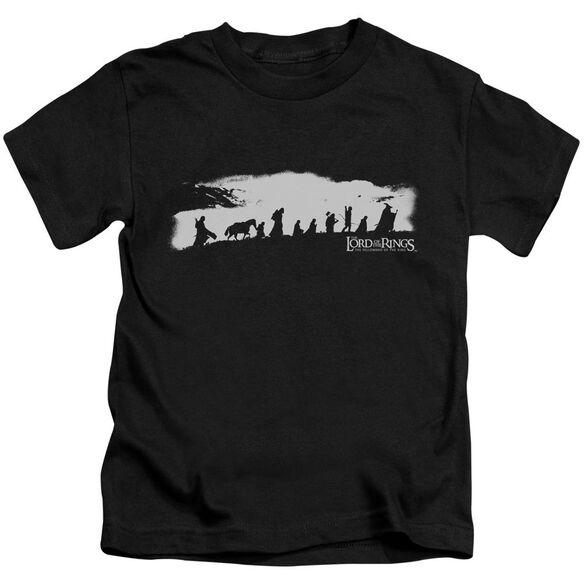 Lor The Fellowship Short Sleeve Juvenile Black Md T-Shirt