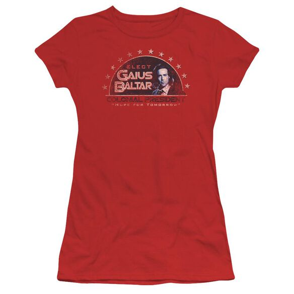 Bsg Elect Gaius Short Sleeve Junior Sheer T-Shirt