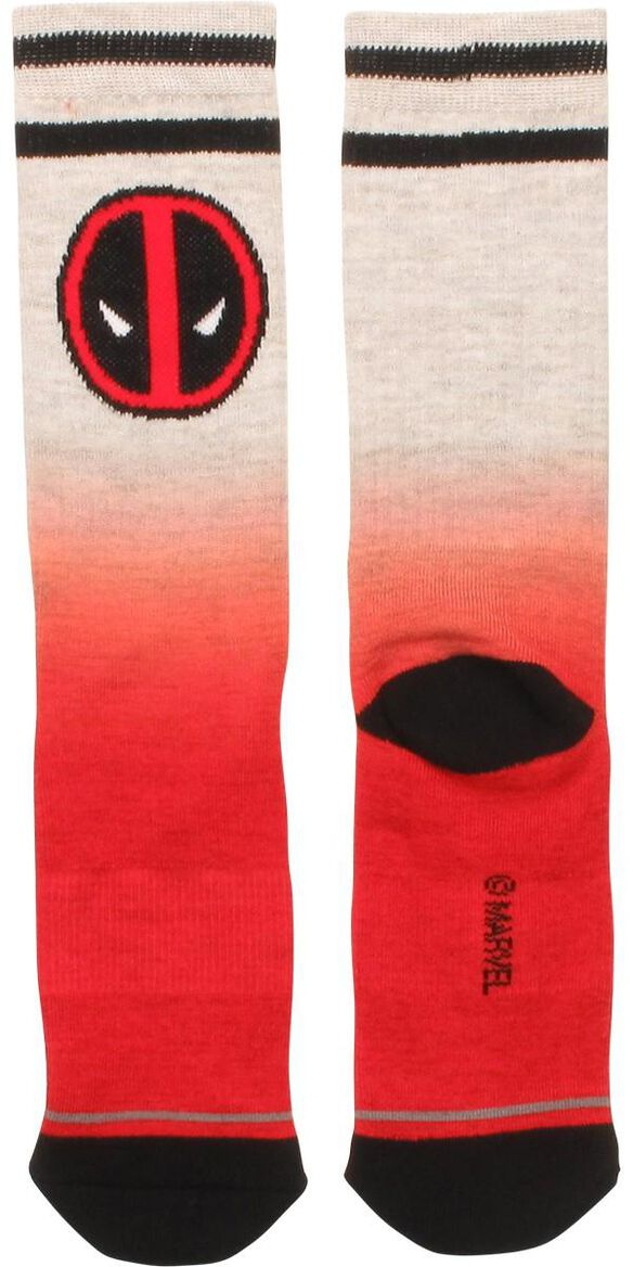 Deadpool Color Fade Crew Socks