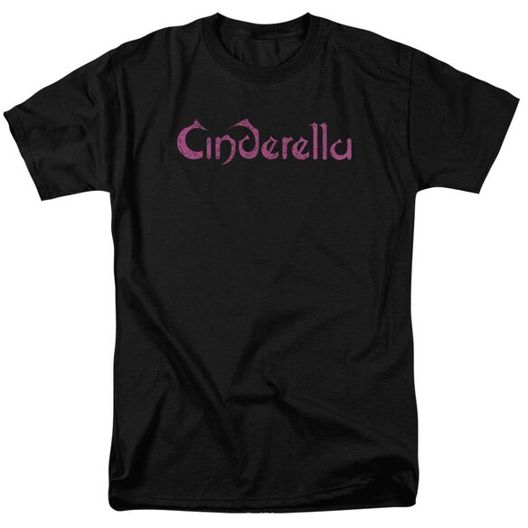 Cinderella Logo Rough Short Sleeve Adult T-Shirt
