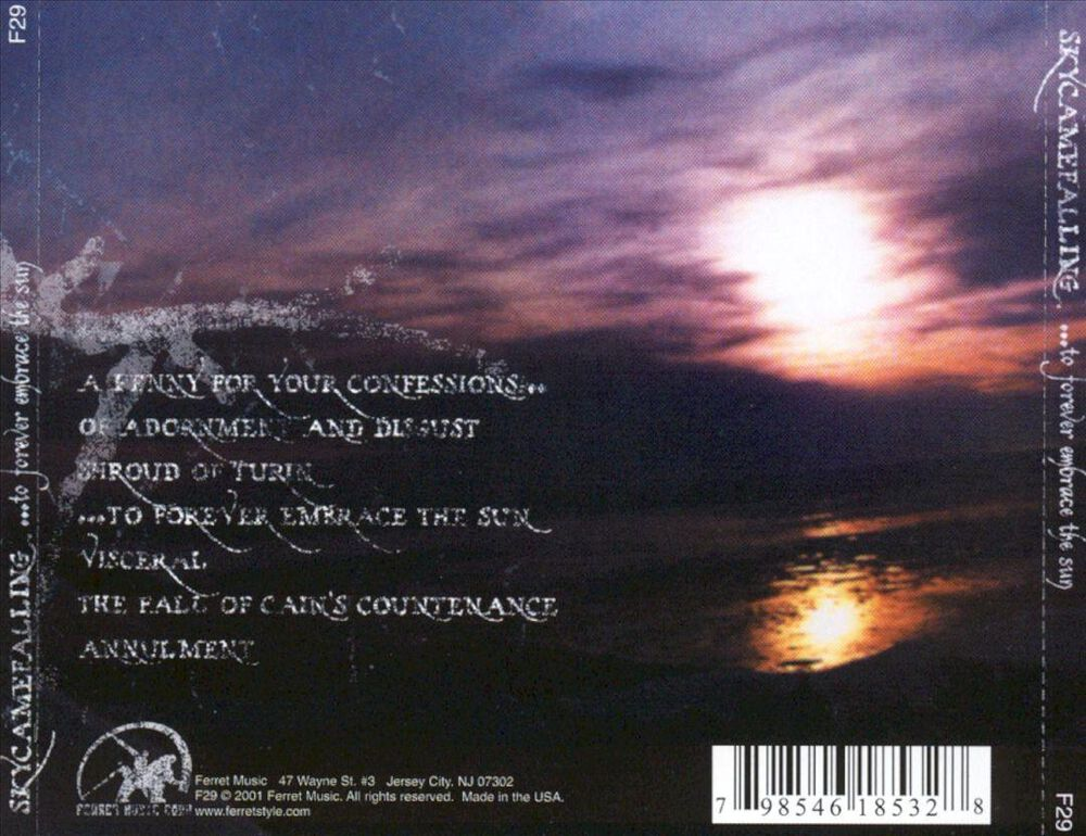 1757aa5aa55 To Forever Embrace the Sun by Skycamefalling - Used on CD   FYE