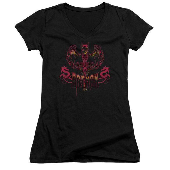 Batman Heart Of Fire Junior V Neck T-Shirt