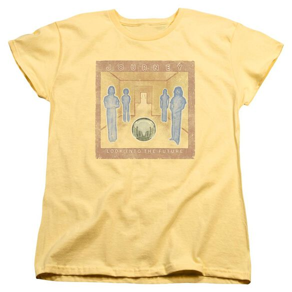 Journey Look Cover Short Sleeve Womens Tee T-Shirt