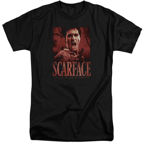 Scarface Opportunity Short Sleeve Adult Tall T-Shirt