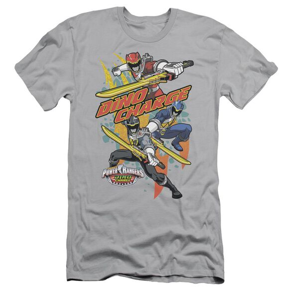 Power Rangers Swords Out Short Sleeve Adult T-Shirt
