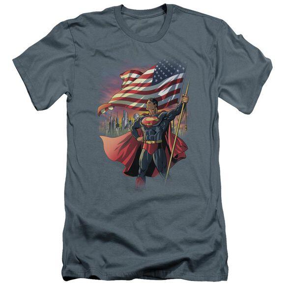 Superman American Hero Premuim Canvas Adult Slim Fit