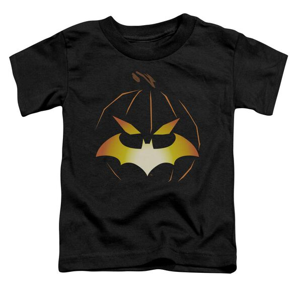 Batman Jack O'bat Short Sleeve Toddler Tee Black Md T-Shirt