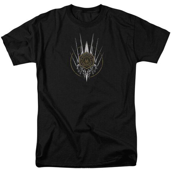 Bsg Crest Of Ships Short Sleeve Adult T-Shirt
