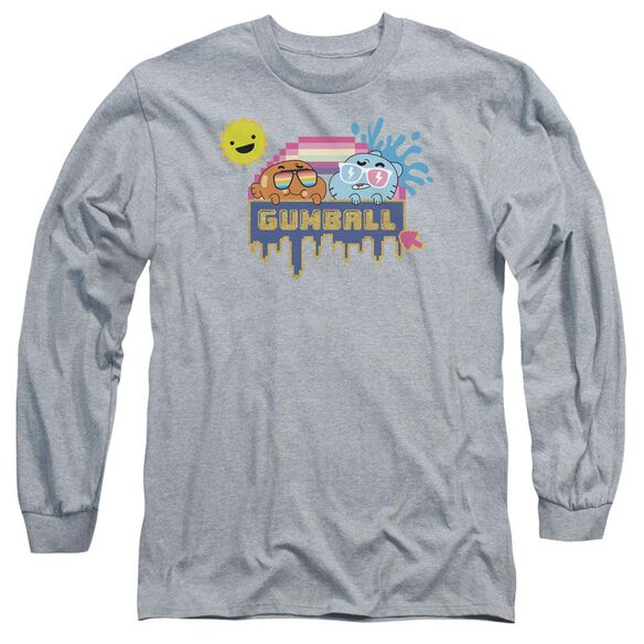 Amazing World Of Gumball Sunshine Long Sleeve Adult Athletic T-Shirt