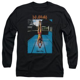 Def Leppard High N Dry Long Sleeve Adult T-Shirt