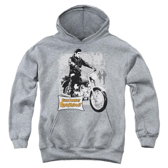 Elvis Presley Roustabout Poster Youth Pull Over Hoodie