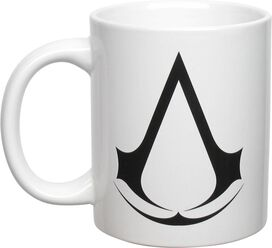 Assassins Creed Logo White Mug