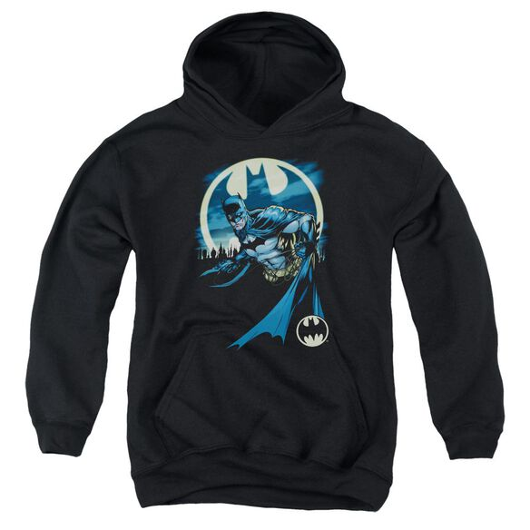 Batman Heed The Call Youth Pull Over Hoodie