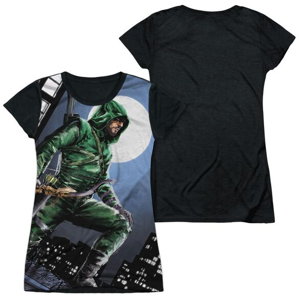 Arrow Night Watch Short Sleeve Junior Poly Black Back T-Shirt