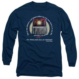 BEVERLY HILLS COP NICEST POLICE CAR - L/S ADULT 18/1 T-Shirt
