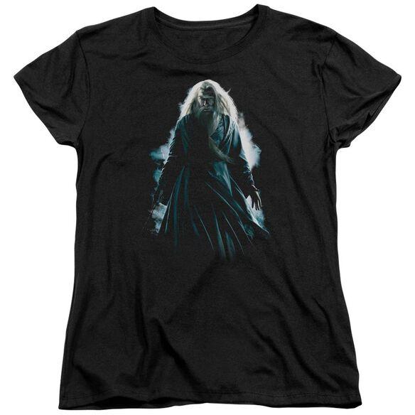 Harry Potter Dumbledore Burst Short Sleeve Womens Tee T-Shirt