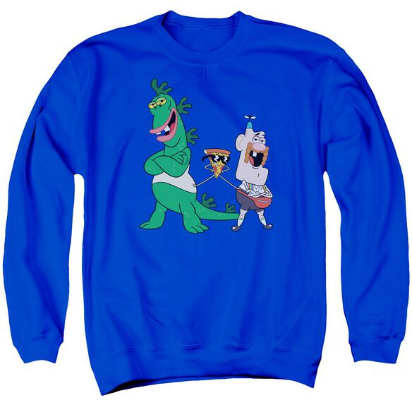 Uncle Grandpa The Guys Adult Crewneck Sweatshirt Royal