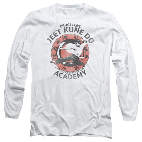 Bruce Lee Jeet Kune Long Sleeve Adult T-Shirt