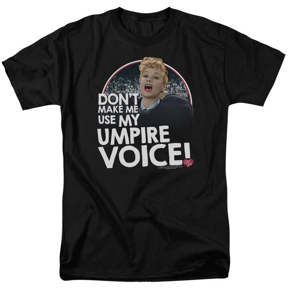 I Love Lucy Umpire Short Sleeve Adult T-Shirt