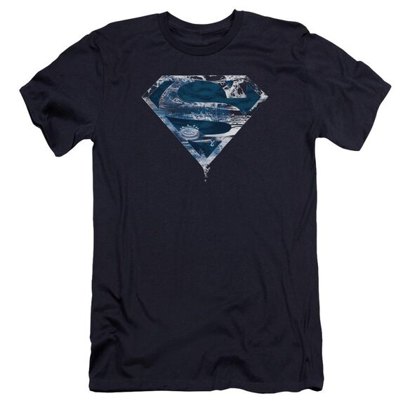 Superman Water Shield Premuim Canvas Adult Slim Fit
