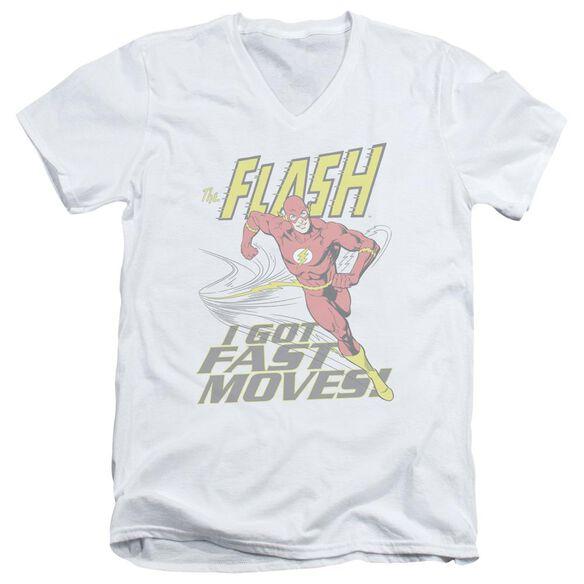 Dco Fast Moves Short Sleeve Adult V Neck T-Shirt