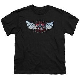 Reo Speedwagon Rendered Logo Short Sleeve Youth T-Shirt