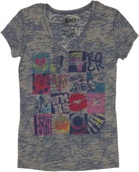 Glee Collage Baby Tee
