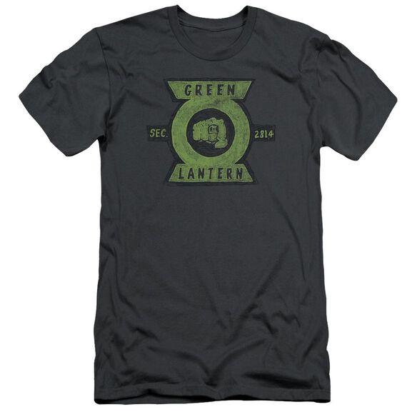 Green Lantern Section Short Sleeve Adult T-Shirt