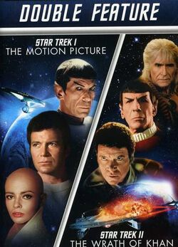 Image of Star Trek I: The Motion Picture / Star Trek II: The Wrath of Khan