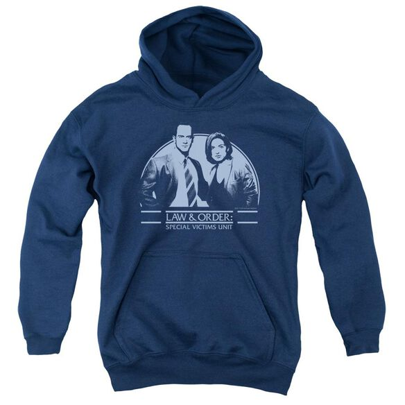 Law And Order Svu Elliot And Olivia Youth Pull Over Hoodie