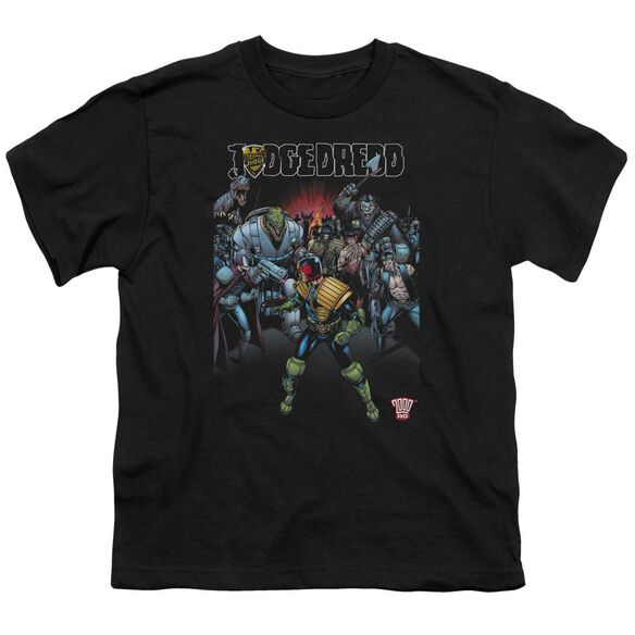 Judge Dredd Behind You Short Sleeve Youth T-Shirt