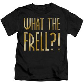 Farscape What The Frell Short Sleeve Juvenile Black T-Shirt
