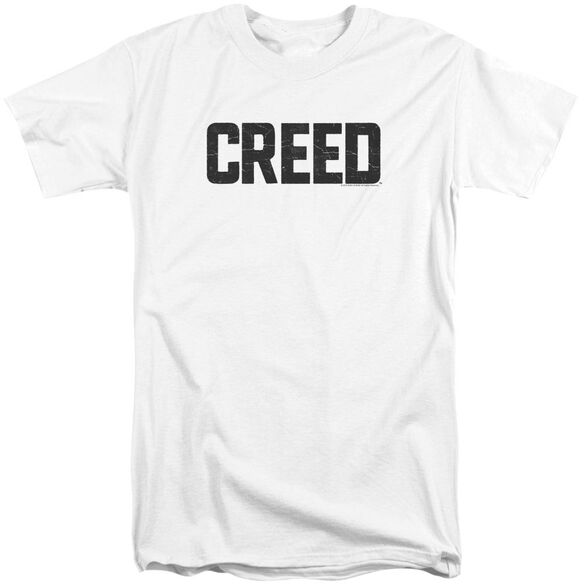Creed Cracked Logo Short Sleeve Adult Tall T-Shirt